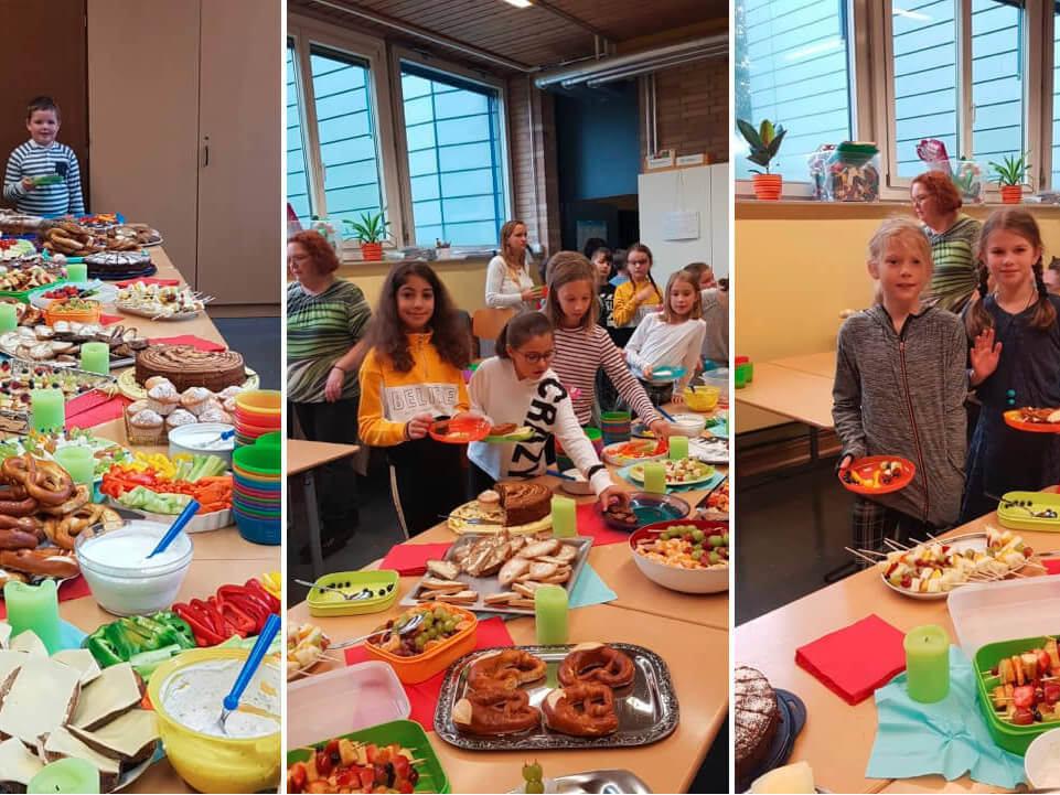 Gesundes Frühstück - Grundschule Sechsmorgen
